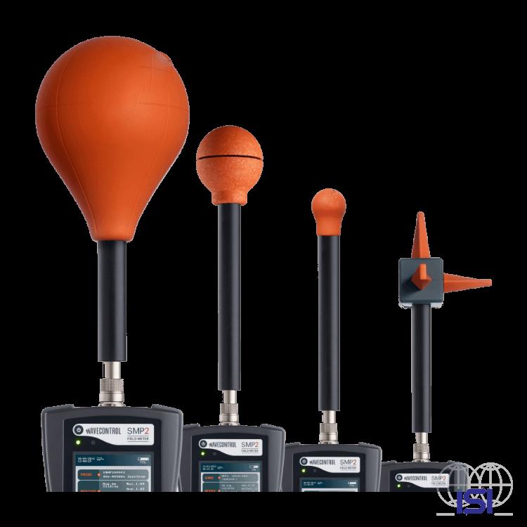Wavecontrol 3 different field probes