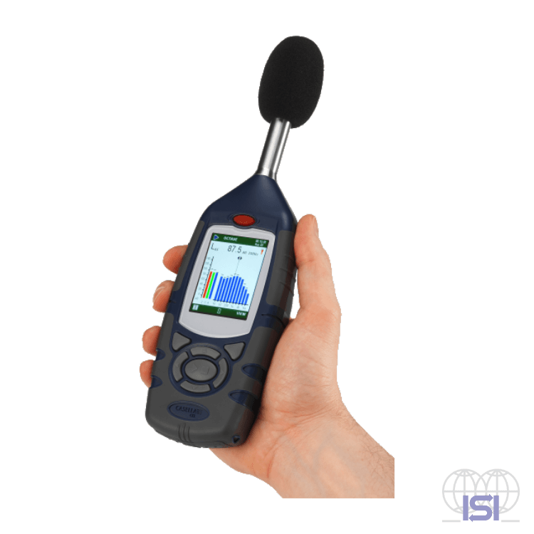 Casella CEL-62x Sound Level Meters in hand