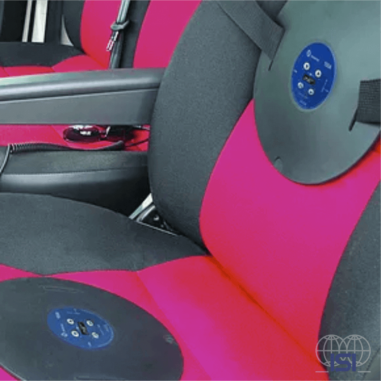 Svantek SV100A in situation use on a seat car