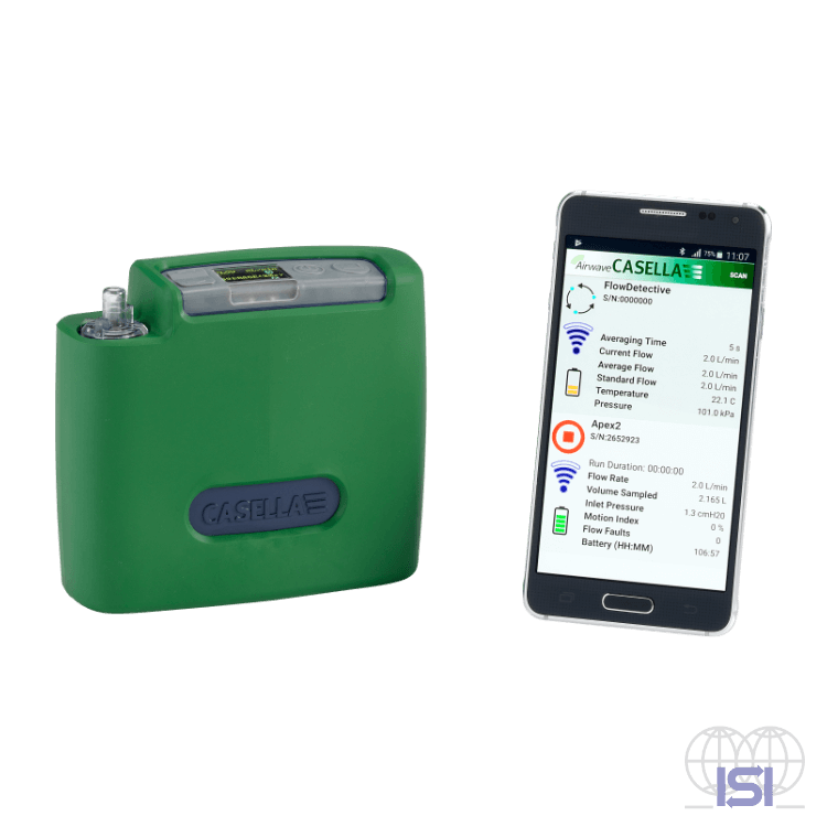 flow detective airflow calibrator with smartphone app
