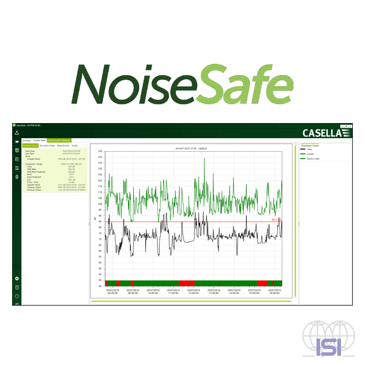 Casella Noise Safe software
