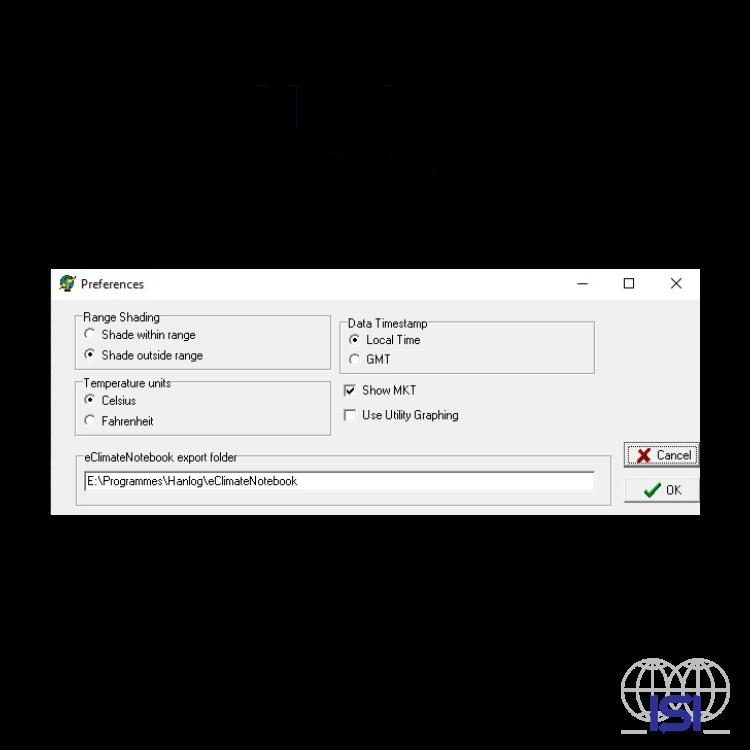 HanLog screenshot preferences
