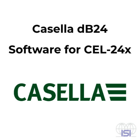 Casella dB24 software voor CEL-24x