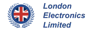 london electronics logo